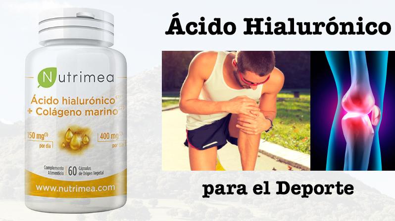 el acido hialuronico y el deporte