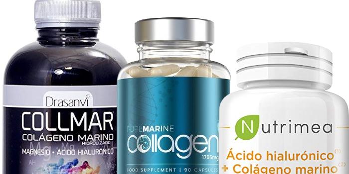 diferentes productos para consumir colageno
