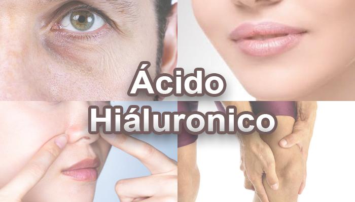 distintas zonas del cuerpo donde aplicar acido hialuronico