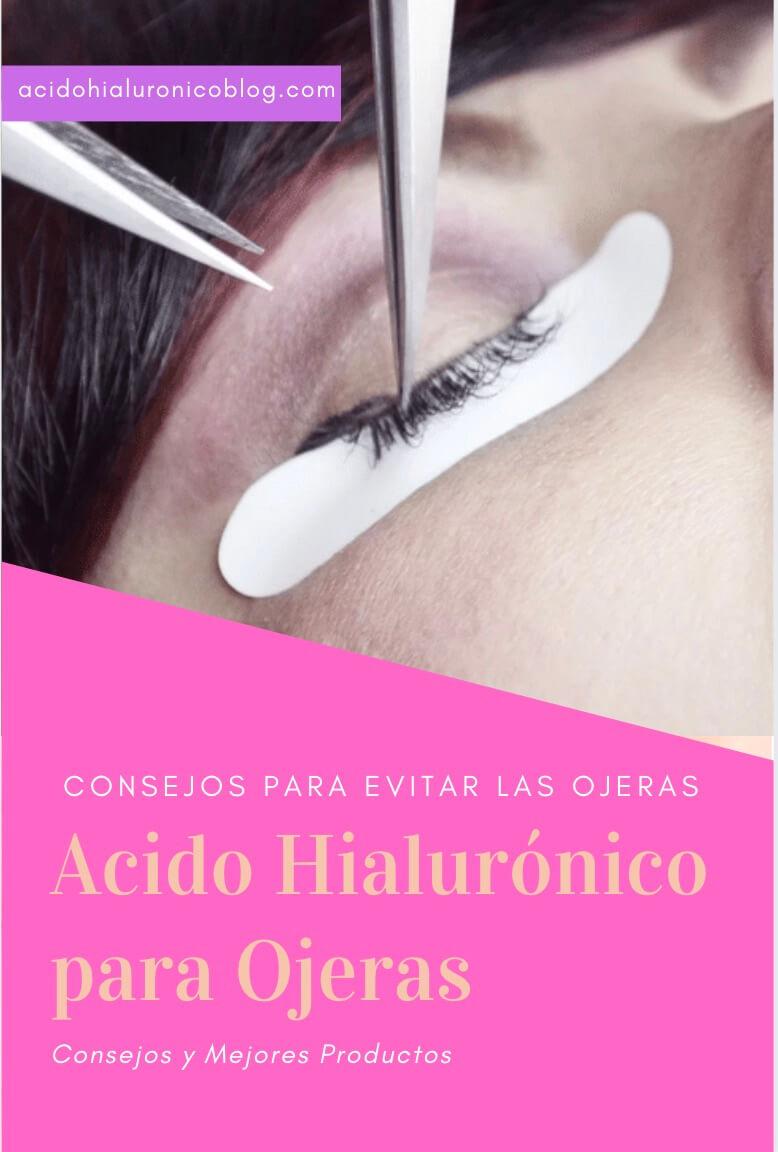 acido hialuronico para las ojeras